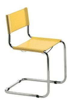 ITALMODERN L3108YEL Sabrina Side Chair, Yellow with Chrome, Set of 2 by ITALMODERN. $312.74. Made in Italy. Durable bonded leather seat and back. No assembly required. Classic Italian design. From the little rubber feet to the tailored fit of the seat and back, the sabrina side chair is a symbol of craftsmanship and style. If you're looking for a chair that is always just right, why not purchase an icon. In black or white leather and chrome.