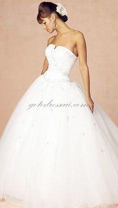wedding dresses, just like a princess