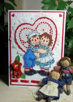Made For Each Other...Raggedy Ann & Raggedy Andy