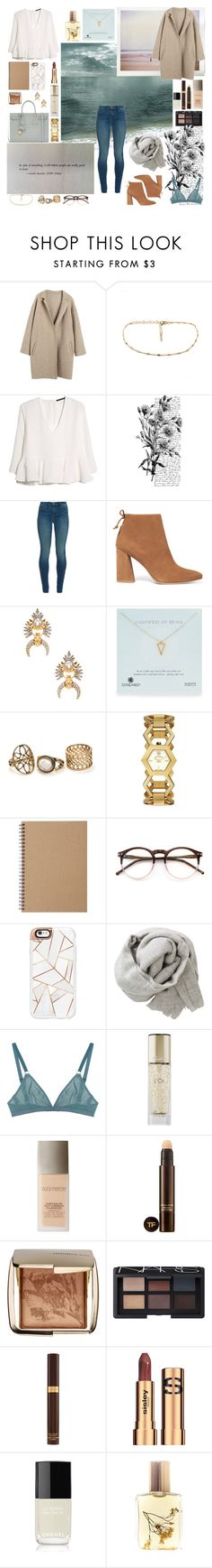 """Make Art Baby"" by angie-5soslm ❤ liked on Polyvore featuring MANGO, Pennyblack, Sebastian Professional, J Brand, Stuart Weitzman, Elizabeth Cole, Dogeared, Tory Burch, Muji and Wildfox"