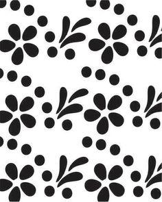 Black And White Flowers, Phone Backgrounds, Animal Print Rug, Fabric Design, Screen Printing, Stencils, Cartoon, Wallpaper, Wedding