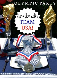 Awesome Olympic Party ideas from Party BluPrints Blog