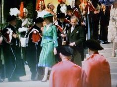 June 15, 1981: Lady Diana Spencer attends the service of the Order of the Garter at Windsor.