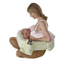"My Brest Friend Twins Plus Deluxe Green Nursing Pillow - Zenoff Products - Babies ""R"" Us"