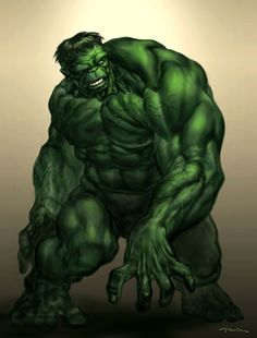 Hulk in shadows