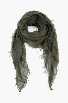 Chan Luu Scarf Soft Cashmere Silk Wrap Blue Nights /& Duster Bag