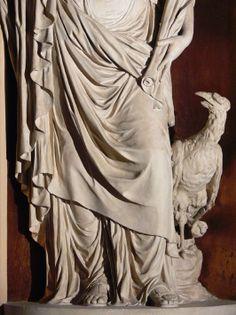 G. De Maria (Bologna 1762 - 1838), la Vigilanza, 1796-97 ca., Stucco, Collezioni Comunali d'Arte, Galleria Vidoniana. Questa scultura fa parte di una serie realizzata da Giacomo Rossi e Giacomo De Maria in età napoleonica, tra il 1796 e il 1797, per 'riammodernare' la galleria barocca dalla splendida volta affrescata nel 1665 circa dal Caccioli e dal Santi. (foto R. Martorelli)
