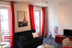 Furnished studio apartment for rent at Rue du Cherche-Midi in the 6th arr of Paris