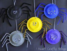 Spinnen van papieren borden