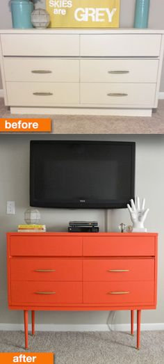 Check out this one: | 19 Furniture Makeovers That Prove Legs Can Change Everything