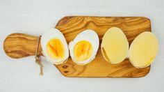 Ovos mexidos sem abrir a casca