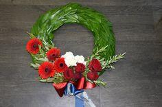 Anzac Wreath Anzac Poppy, Anzac Day, Briar Rose, Seasonal Flowers, Rose Flowers, Wreath Ideas, 4th Of July Wreath, Special Day, Brownies
