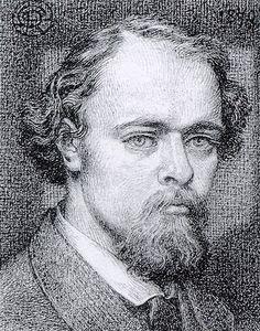 Autorretrato, 1870 - Dante Gabriel Rossetti