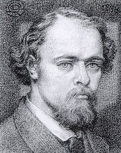 Dante Gabriel Rossetti (1828-1882) Self Portrait. He was an original member of The Artists Rifles.