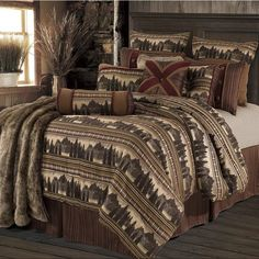 Great  Briarcliff Comforter Set   Cabin decor