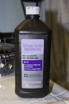 Adorned From Above: 10 Uses for Hydrogen Peroxide