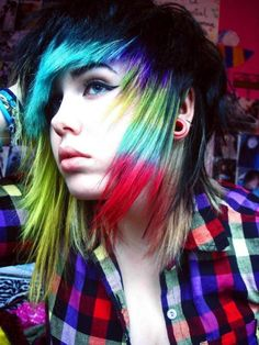 Pnner wrote: i think i've pinned this before. but. RAINBOW!!..... me-  (I love reading other peoples pins lol)