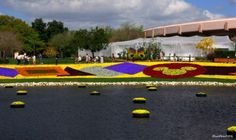 The Magic Floral Carpet of Epcot - www.wdwradio.com