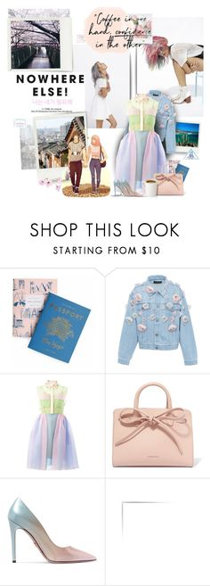 """Where I've Been, Where I'm Going"" by muzikgurl ❤ liked on Polyvore featuring He Loves Me, Rifle Paper Co, Anouki, Delpozo, Mansur Gavriel, Prada, GET LOST and country"