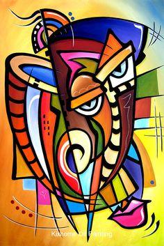 Buy Modern animal POP arts Scratching Post Abstract portrait