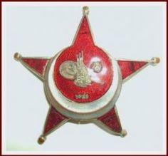 "Turkish ""Gallipoli Star"" Medal of WW I"