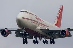 """Air India Boeing 747-400   Call sign """"Air India 1"""" coming in…   Flickr"""