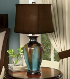Glazed Ceramic Table Lamp from Through the Country Door®
