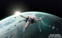 Trailer, screenshots of free-to-play space combat game Star Wars Attack Squadrons