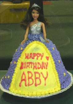 Barbie cake.    Let us know if you want one in the NJ area! Leave a comment for Colleen Wysocki.