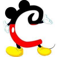 Original alphabet inspired by Mickey Mouse. Original alphabet inspired by Mickey Mouse. Disney Letters, Mickey Mouse Letters, Mickey E Minnie Mouse, Mickey Mouse Design, Mickey Mouse Tattoos, Disney Alphabet, Mickey Mouse Clubhouse, Mickey Mouse Birthday, Disney Mickey