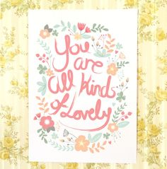 All Kinds Of Lovely by Kelly on Etsy