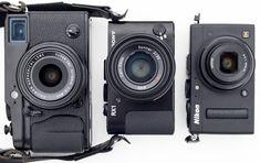 Nikon Coolpix A Sony RX1 Fuji X-Pro1 size comparison 2