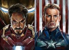 'Captain America: Civil War' Iron Man / Captain America - Robert Bruno