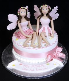 1000 Images About Twin Birthday Cakes On Pinterest Nail