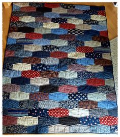 Tumbler Quilt | Flickr - Photo Sharing!