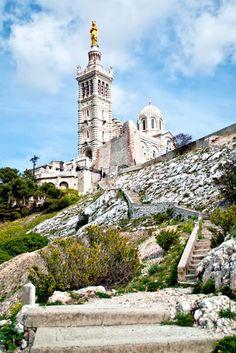 Notre Dame de la Garde, Marseilles, Bouches du Rhône