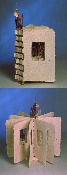 handmade book for tree lovers