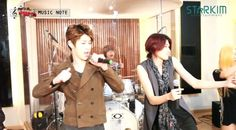 LEDApple perform a rock cover of 4minutes Whats Your Name?