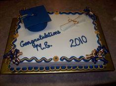Graduation Sheet Cake  on Cake Central