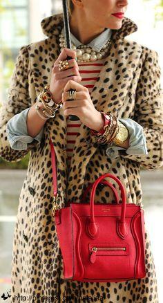 Street style – Celine bag