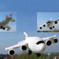 Boeing amigurumi free pattern