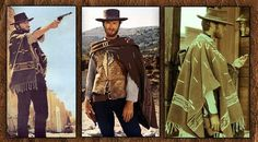 Museum Quality Clint Eastwood Movie Set Poncho Reproduction Normal Retail Pricing $165.00 - On Sale Now - Limited Time Special - Only $128.95 You'll be hang'in