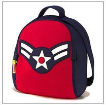 Superhero backpack! Dabbawalla Bags.