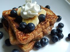 Banana cinnamon french toast by drizzle me skinny