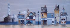 Gary Walton watercolour 'The Old Smoke House'