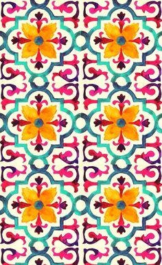Wonder if this is a wallpaper design? Motifs Textiles, Textile Patterns, Prints And Patterns, Textile Prints, Surface Pattern Design, Pattern Art, Flower Pattern Design, Batik Pattern, Design Patterns