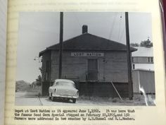 Depot at Lost Nation 1962