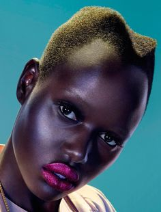 Modern Weekly China September 2012  Photographer: John-Paul Pietrus Stylist: Ting Ting Lin Model: Ajak Deng
