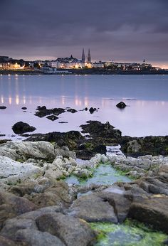 Dun Laoghaire, Ireland.  Beautiful and very friendly people.