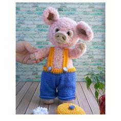 Crochet Animal Patterns, Crochet Doll Pattern, Stuffed Animal Patterns, Crochet Patterns Amigurumi, Doll Patterns, Knitting Patterns, Amigurumi Toys, Handmade Ideas, Handmade Toys